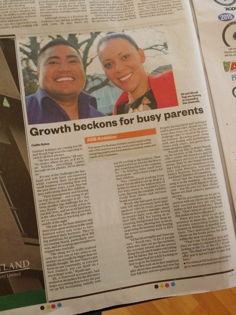 Growth beckons for busy parents