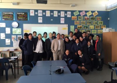 Eli Tagi Accounting talk at mangere college